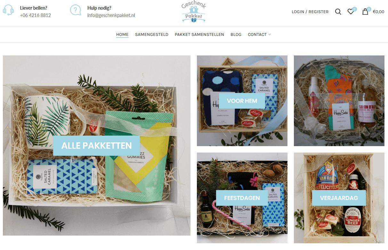 Geschenkpakket - Webshop